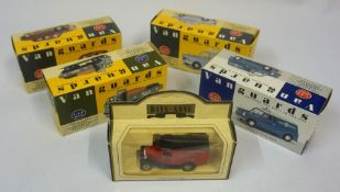 A Quantity of Boxed Model Die-Cast Toy Cars, To include examples by Vanguards classic popular saloon