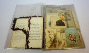 A Quantity of Vintage Postcards, To include WW1 silk postcards and early 20th century examples,