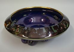 "A Wilkinson,s ""Pans Garden"" Lustre Bowl, 27cm diameter"