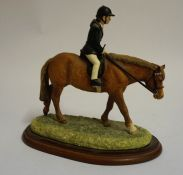 "A Border Fine Arts Figure Group ""A Hard Day"" , From the Hay Days range, 17cm high"