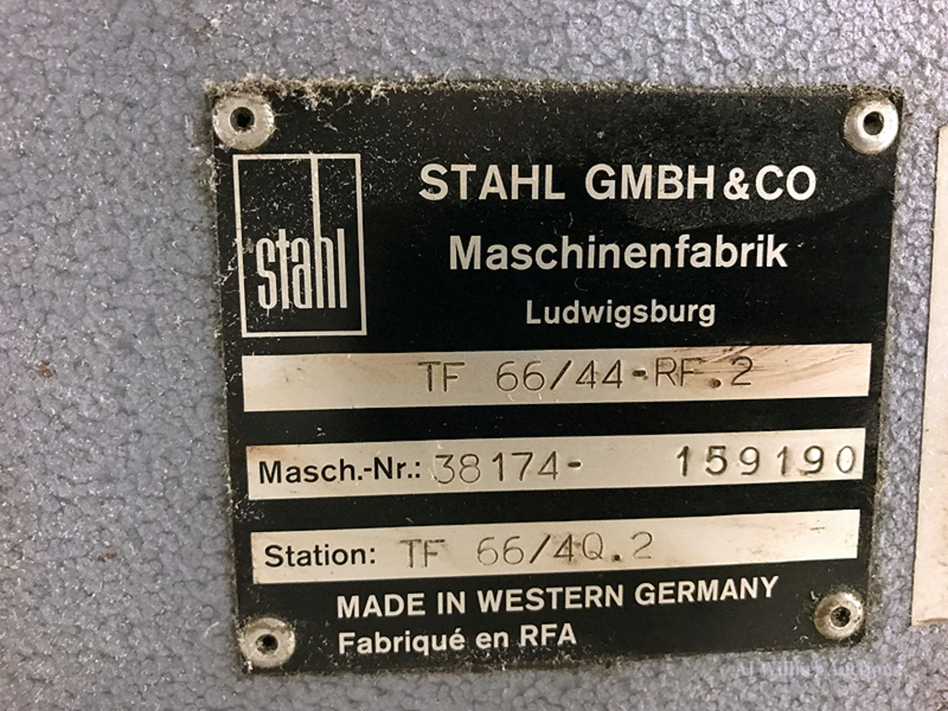 """Lot 23 - Stahl TF 66/44 RF.2 26""""x40"""" Continuous Feed Folder"""