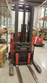 Lot 66 - Raymond EASi-R30TT 3,000 lbs. Capacity High Lift and Reach Forklift