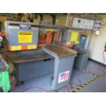 """HEM mdl. H90A-4 12"""" Automatic Horizontal Band Saw s/n 941406 w/ HEM Controls, Automatic Clamping and"""