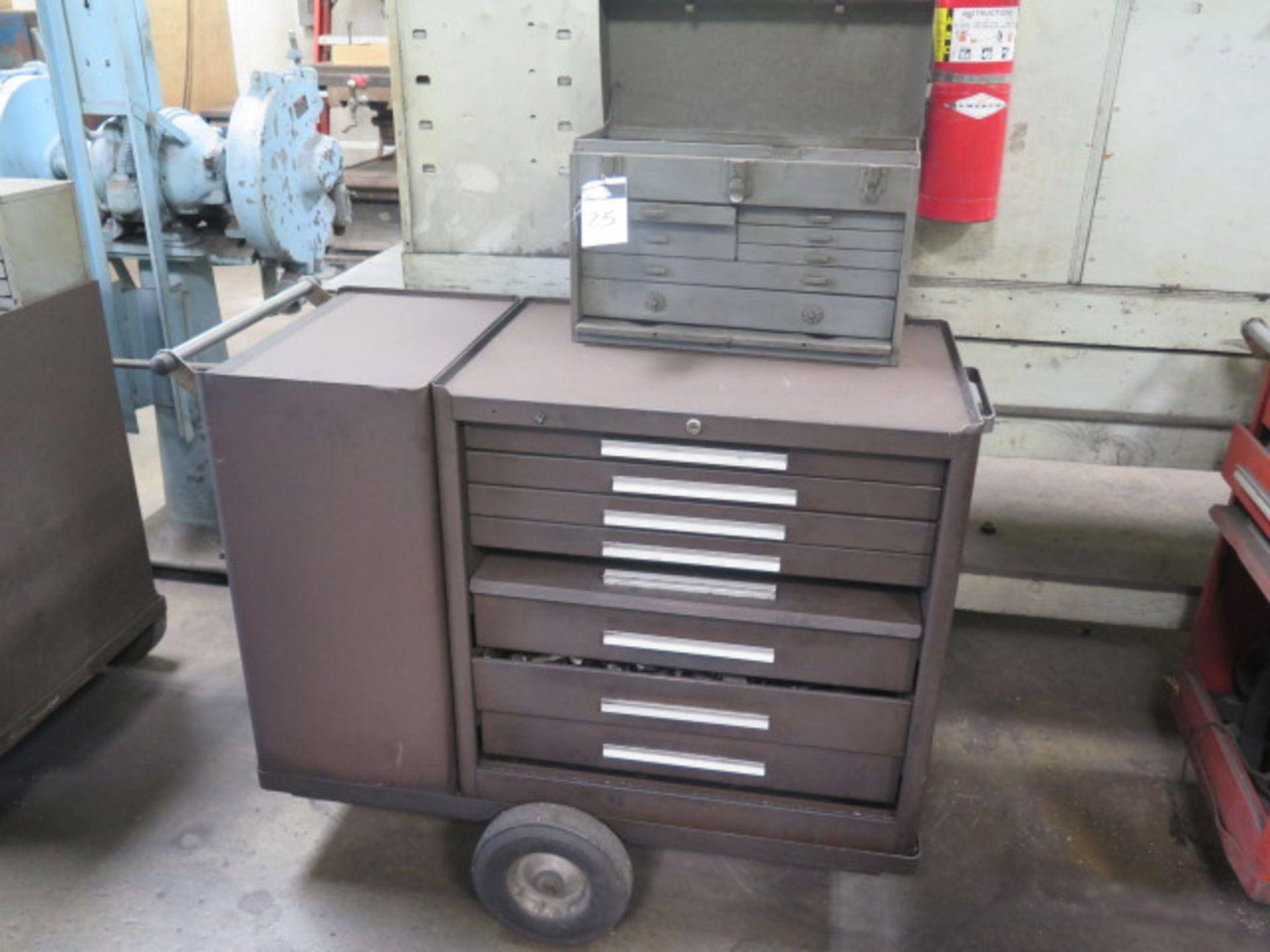 Kennedy Versa-Cart Roll-A-Way Tool Mox w/ Misc