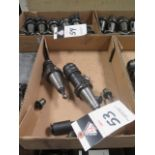 CAT-40 Taper Tapping Heads (2) and Tap Holders