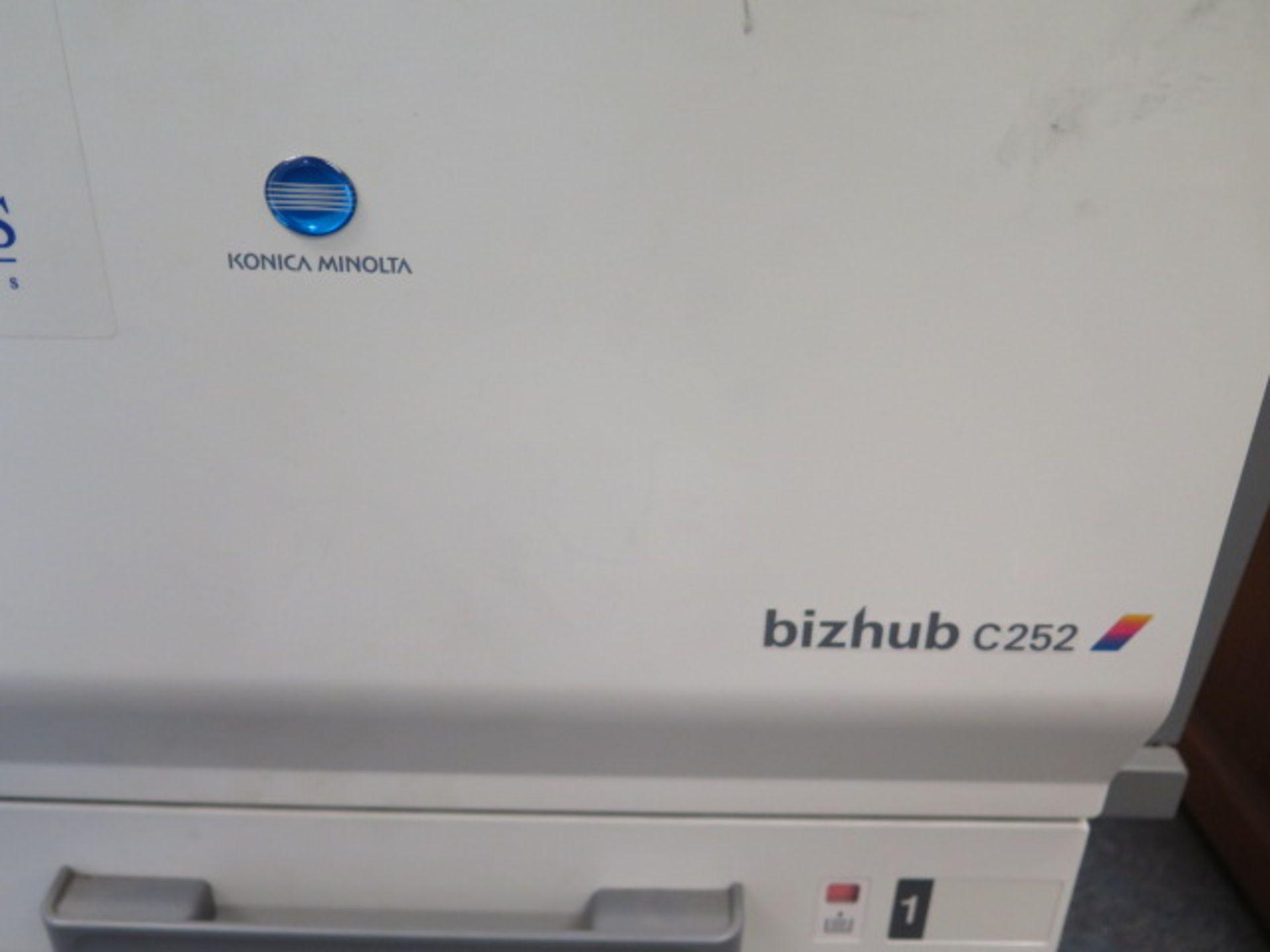 Konica Minolta bizhub C252 Color Copy Machine - Image 4 of 5