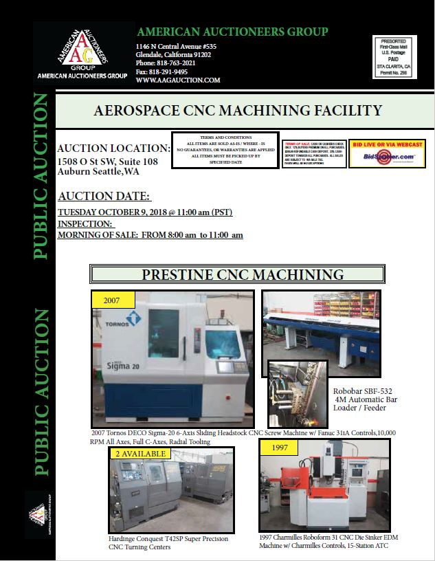 AEROSPACE CNC MACHINING FACILITY