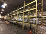 """Lot 1F - 10 BAY OF 16""""H X 96""""W X 42""""D SPEEDRACK WITH 3 LEVEL OF BEAM COLOR YELLOW"""