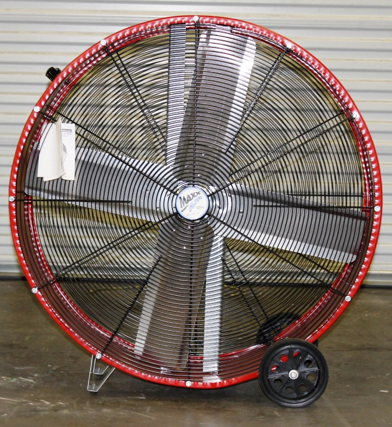 "Lot 23 - 36"" DIRECT DRIVE BARREL FAN"