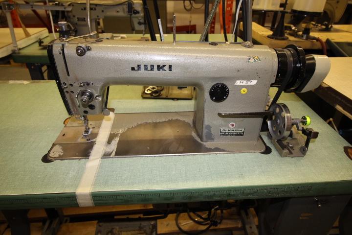 Lot 56 - Juki Straight Stitch Sewing Machine 3phase, M#DLN-415-4