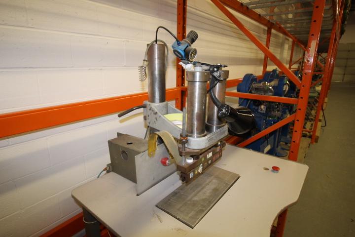 Lot 31 - Weldon P3000 Double Seam Welder System 3phase Pneumatic