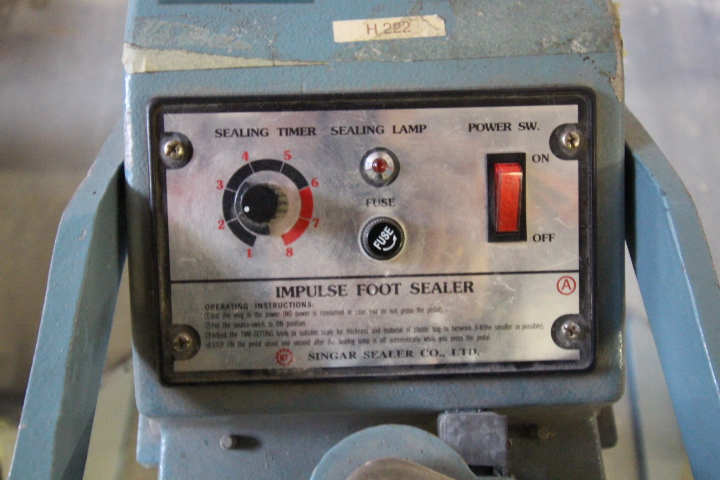 Lot 25 - 3 - Impulse Sealers 120volt