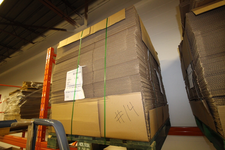 """Lot 14 - Skid lot of Packaging Boxes 24"""" X 16"""" X 8"""" Approx 240 pcs"""