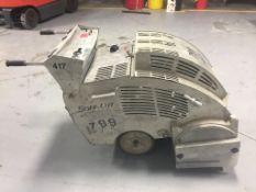 Soff-Cut GX-3000 Concrete Saw, 2312hrs, Kohler Command Pro