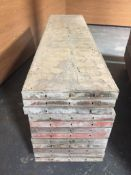(12) Symons 2' x 8' Steel-Ply Concrete Forms