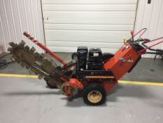 2007 Walk-behind Ditch Witch 1230 Trencher, Honda GX340, 11 HP