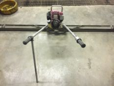 10' Strike Board w/ double handle, 4 stroke Honda GX35, Location: 4127 Blairs Ferry Rd. NE Cedar
