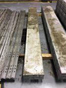 "(3) Western Elite 12"" x 9' Aluminum Concrete Forms, Smooth, 6-12 HP"