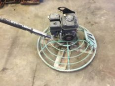 Multi-Quip Walk-behind Concrete Power Trowel, Model# J36H55, S/N: 5D0183404, Location: 4127 Blairs