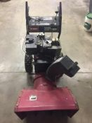 Toro Power Shift 824 Snow Bower, model# 38540, S/N: 6905070, Location: 4127 Blairs Ferry Rd. NE