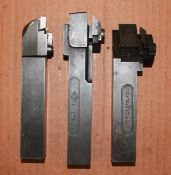 3 Piece Indexable Turning Tools ETCO & Carboloy Tools