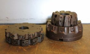 "4 Indexable Face Mills (4""-6"" Cutting Diameter)"