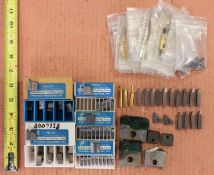 Various Relco Certa-Form Carbide Inserts, Insert Shims, & Torx Screws