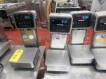"Lot 2 - Avery Weigh-Tronix Mdl. ZQ375 Stainless Steel Scales, 10 Lbs. capacity, 9"" W X 9"" L, stainless"