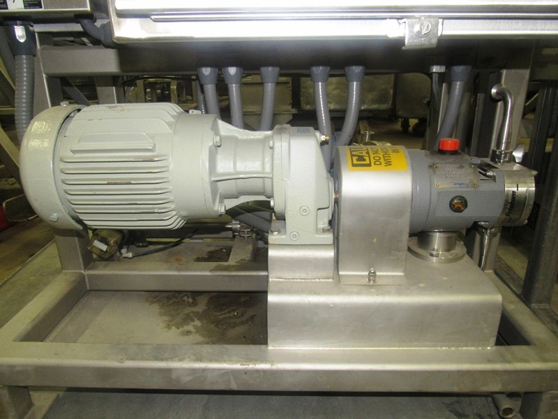"Lot 43 - DSI Process Systems Metering Pump, 1"" positive displacement pump, 1"" inlet/outlet on motor &"