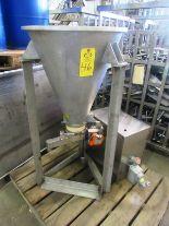 Lot 46 - Schenck Mdl. MOD4003 Volumetric Feed Hopper with controls, Ser. #72487-01A-4000V, Mfg. 2002