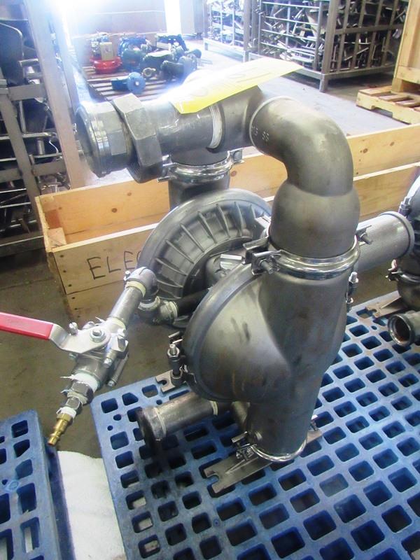 """Lot 19 - Wilden 2"""" Air Operated Diaphragm Pump PX8/SSAAA/TNU/TF/STF, Ser. #0021134196"""