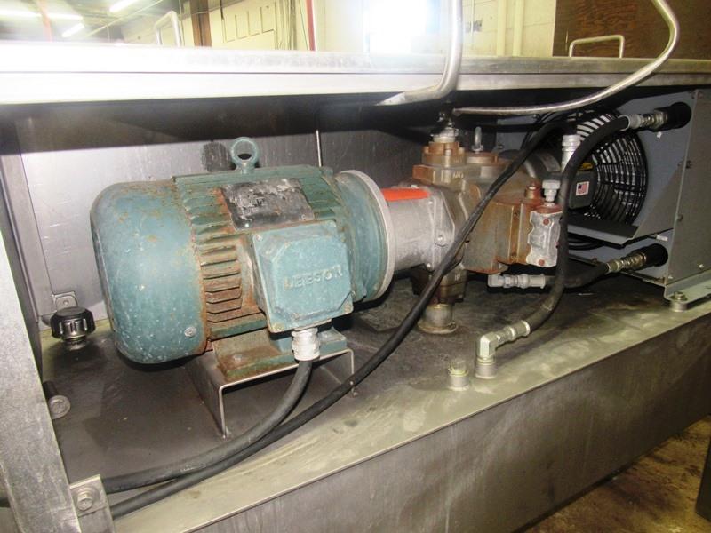 "Lot 41 - Hydraulic Power Pack, 24"" W X 58"" L X 12"" D reservoir, 7.5 h.p., 208/230/460 volt motor, Thomas"
