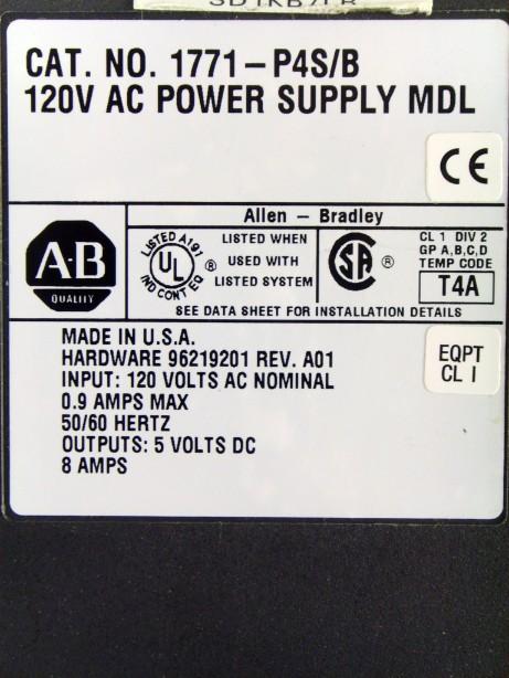 Lot 54 - POWER SUPPLY