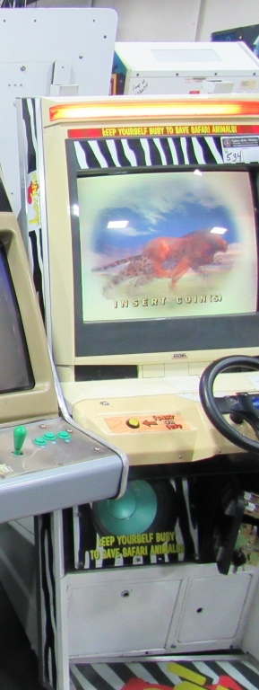 Lot 534 - JAMBO SAFARI UPRIGHT NAOMI CAB DRIVER ARCADE SEGA