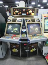 Lot 535 - ROYAL RUMBLE DUAL SCREEN ARCADE GAME SEGA