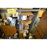 LOT - 1 SECTION OF OIL FILTERS, ETC.