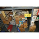 LOT - 2 SECTIONS OF SCREWS / NUTS / BOLT