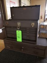 Lot 54 - KENNEDY TOOL BOX