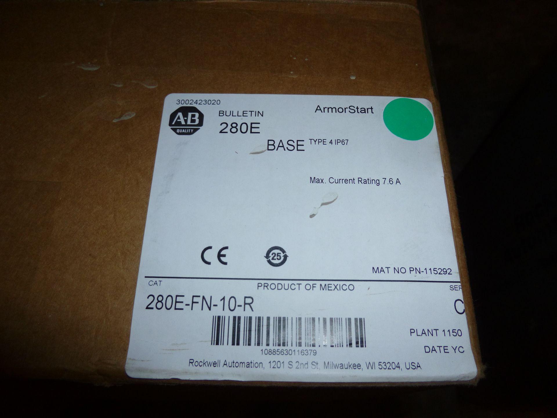 Lot 29 - Allen Bradley Armorstart base Cat 280E-FN-10-R, new in box