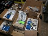 Lot 45 - PALLET OF VARIOUS FLOW TRANSMITTERS; MAGNEHELIC GAUGES & VALVES