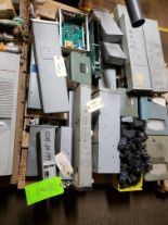 Lot 8 - PALLET OF MISC FOXBORO CURRENT TO AIR TRANSMITTERS; FOXBORO RELAYS & VARIOUS FOXBORO CONTROLS