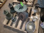 Lot 47 - PALLET OF VARIOUS LAMP PARTS