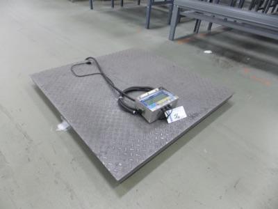 Lot 56 - 5000 Lb Scale   Digital Platform Scale, 4' x 4', 5,000lb. Cap/   MODEL# FB1100   SERIAL#   *