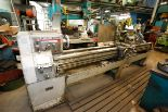 "Lot 3 - LEBLAND REGAL 18"" X 96"" LATHE, 30-1200 RPM, 12"" 3-JAW CHUCK, STEADY REST, 550 VOLTS"