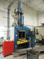 Lot 3 - 1997 DIEFFENBACHER MODEL DU-400 A/SP HYDRAULIC RUBBER INJECTION MOULDING PRESS, S/N 2691/11/97, WITH
