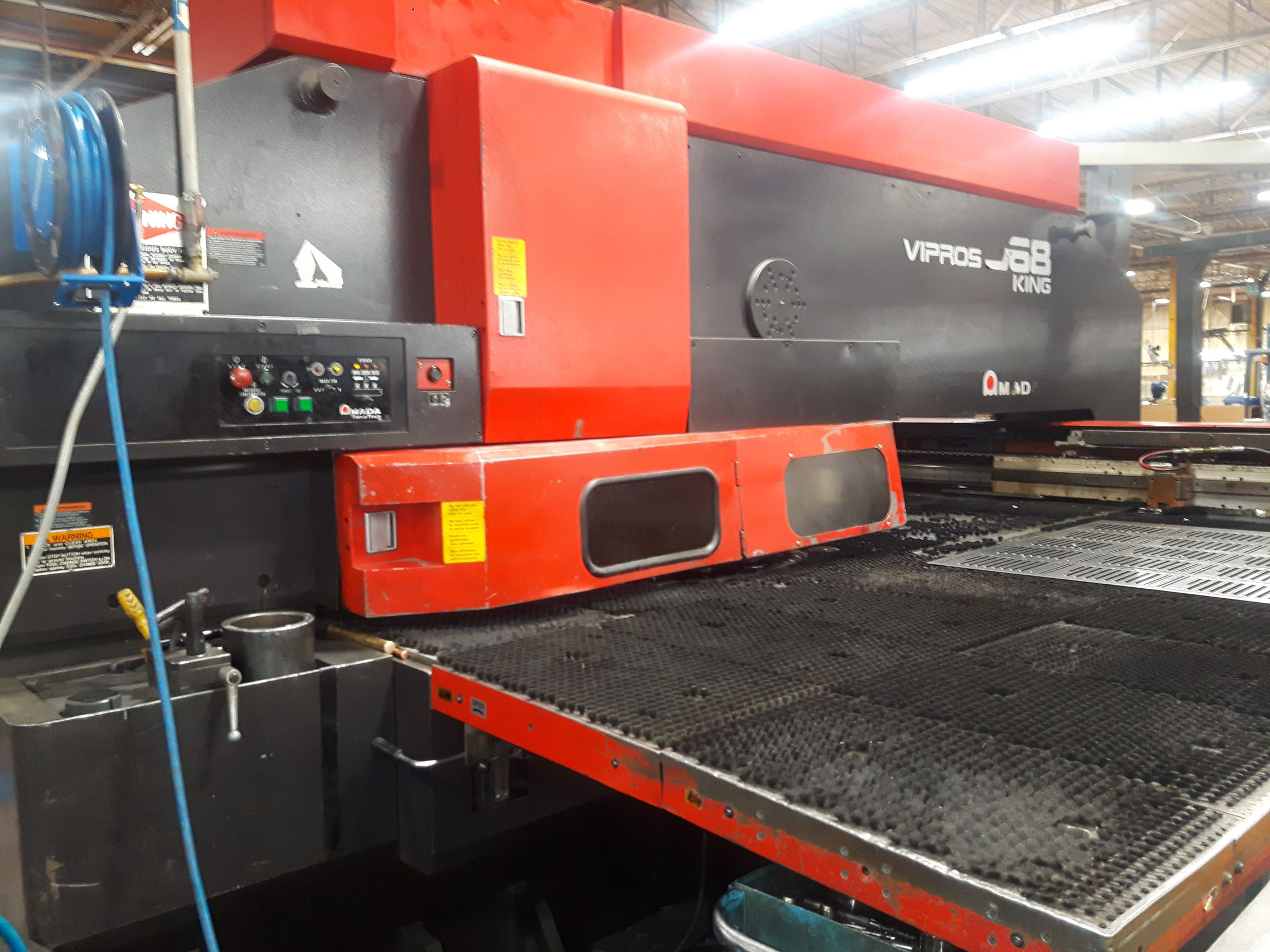 Lot 16 - AMADA VIPROS 30 TON CNC TURRET PUNCH MOD. VIPROS 368 KING, S/N: 36820056 (LOCATED IN POINTE-