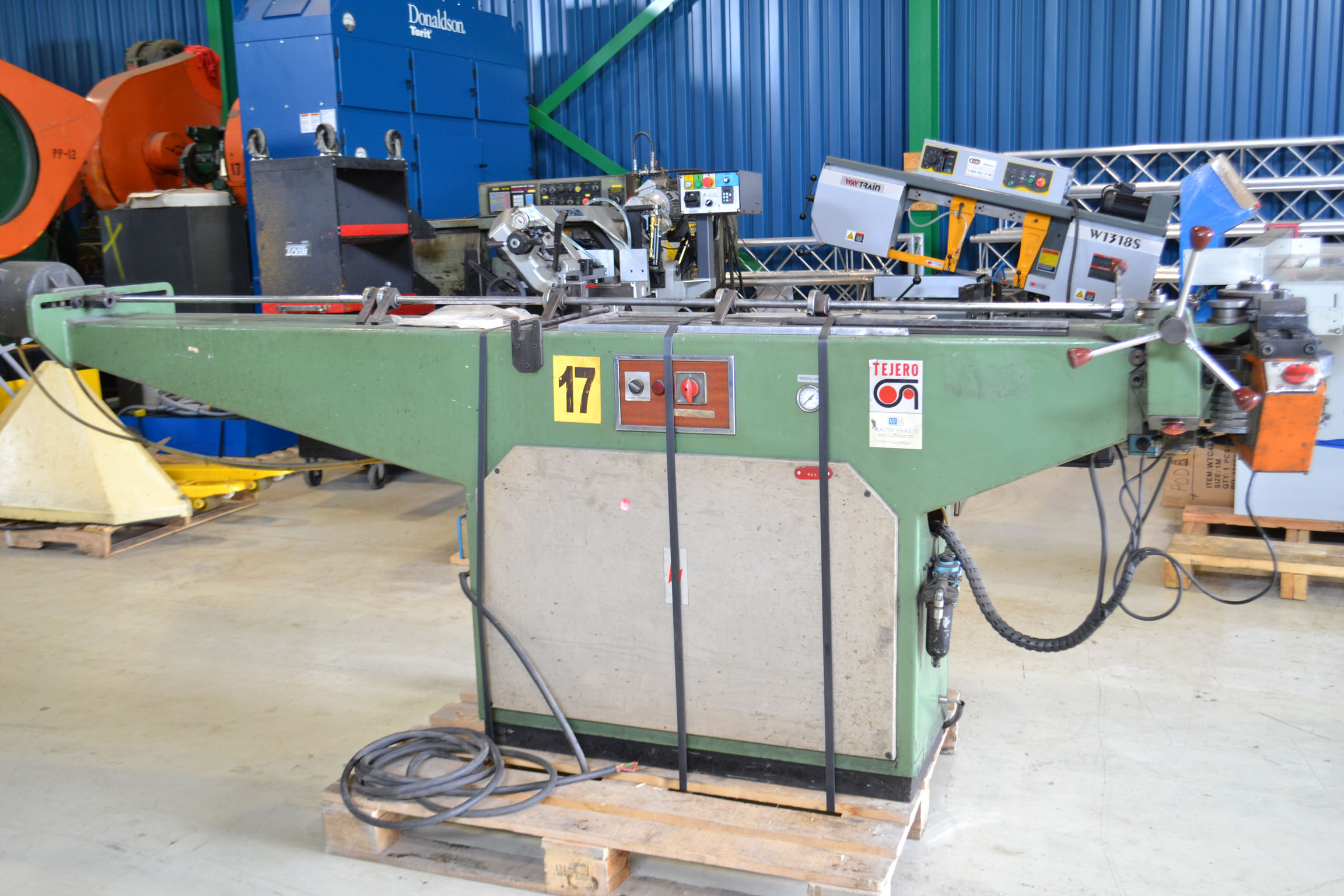 "Lot 13 - TEJERO TUBE BENDER MOD. 32-A, S/N: 895, 1 1/4"", 6 STAGE (RIGGING AT NO CHARGE)"