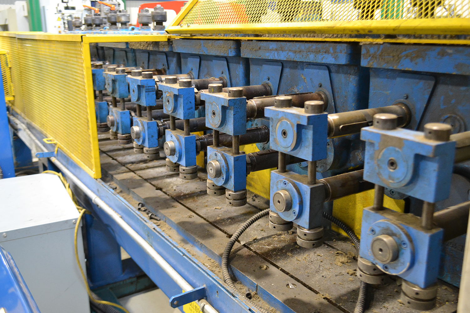 Lot 4 - DREISTERN 14 STATION ROLLFORMER MOD. P1226N, S/N: 93379, W/ 3 ADDITIONAL STATIONS, W/ PUNCH PRESS