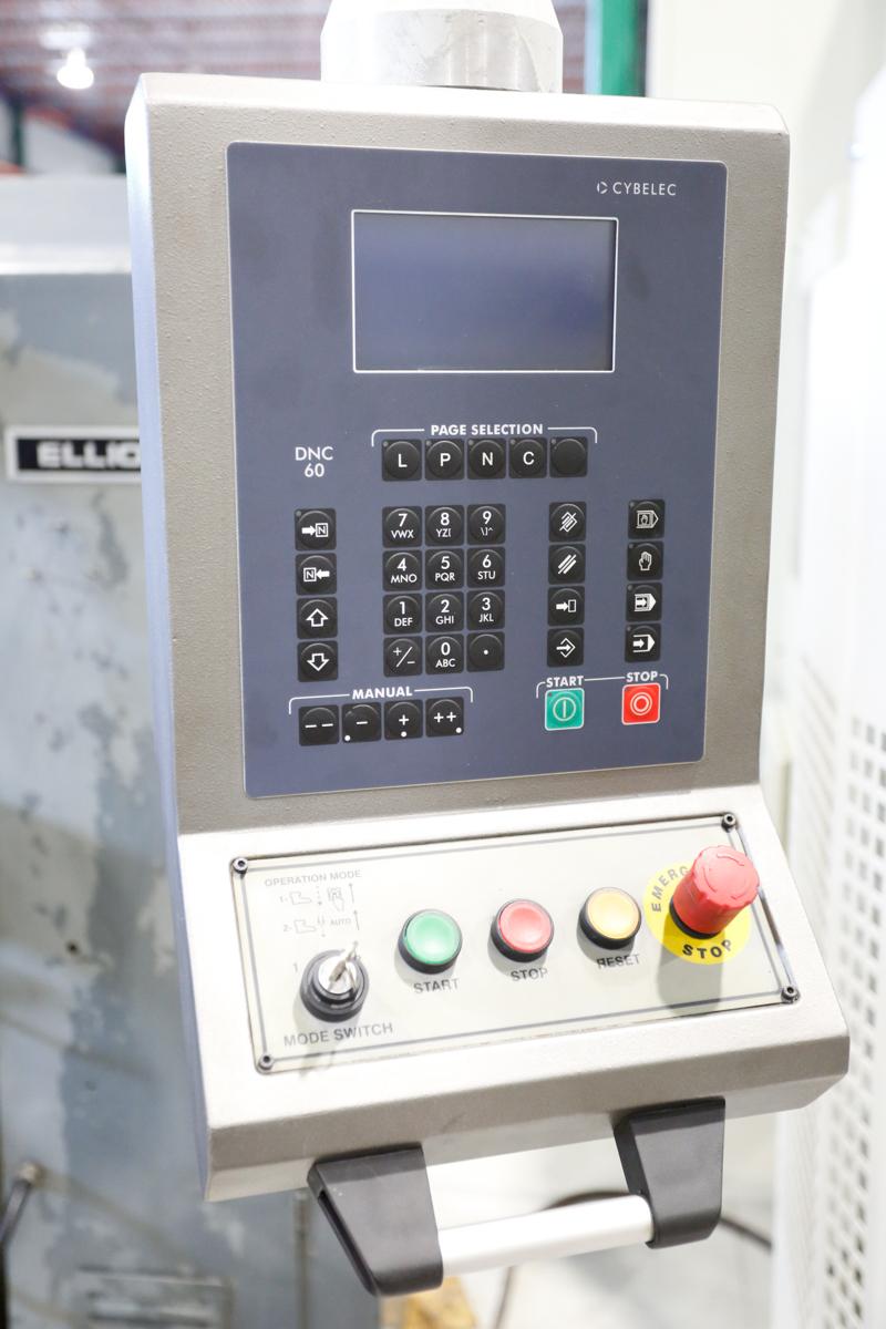 Lot 8 - NEW - MDV INAN 12' X 176 TON CNC PRESSBRAKE MOD. HAP 35/160, CYBELEC DNC60 CNC CONTROL 2-AXES, S/N: