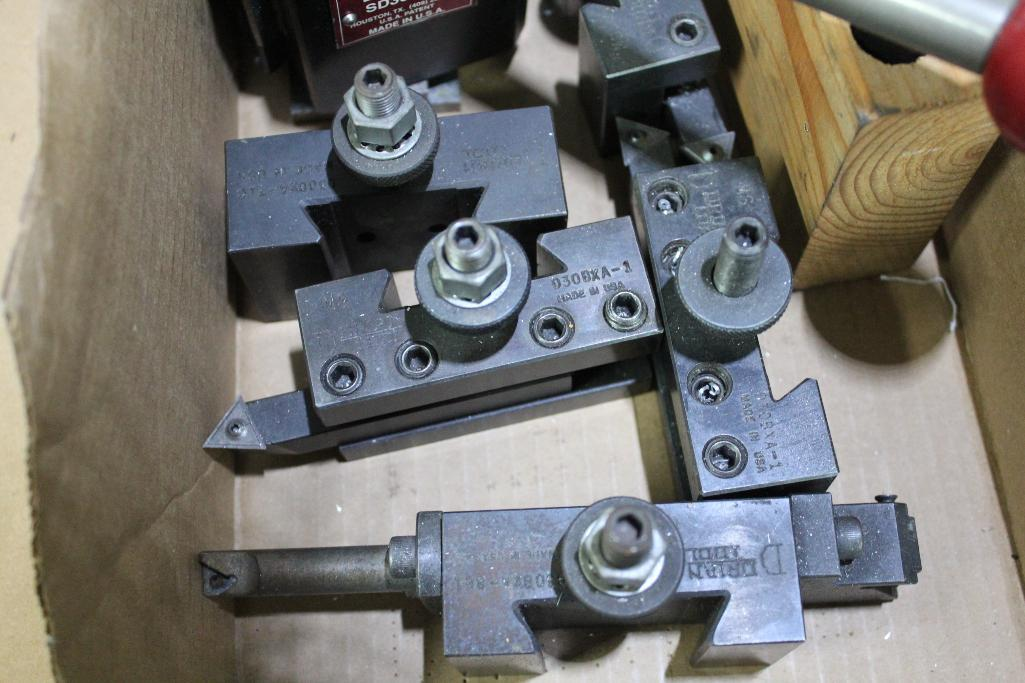 Lot 11 - Dorian SD30 BXA quick change tool post w/ holders